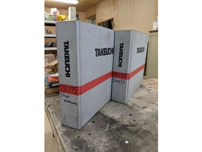 For Sale Takeuchi TB175 Manuals.