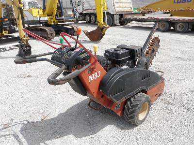 2002 Ditch Witch  Walk Behind Trencher