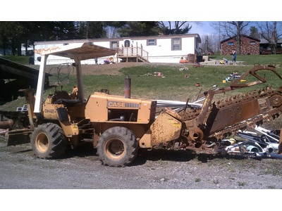 Case DH4B Trencher/Backhoe