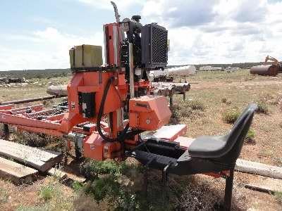 WOOD-MIZER LT70 HD PORTABLE SAWMILL - Industrial Equipment